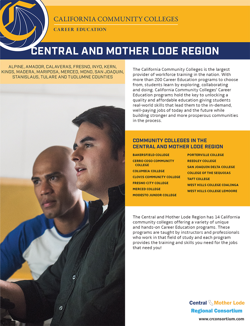CTE FactSheets Central Mother Lode