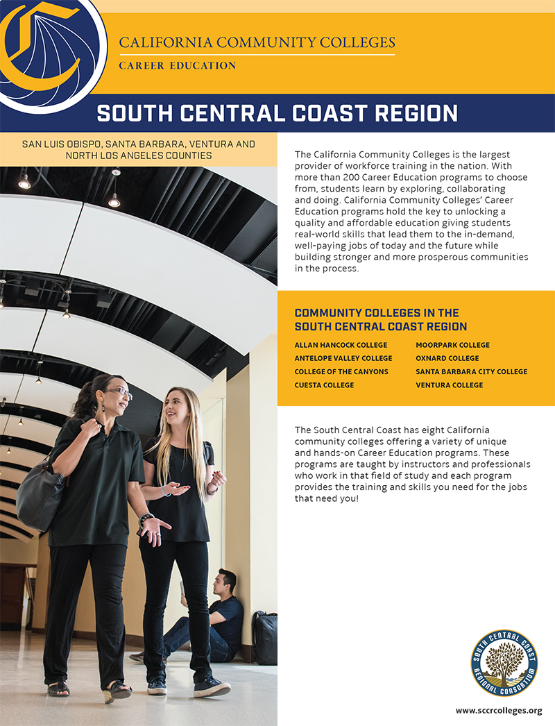 CTE Fact Sheets South Central Coast