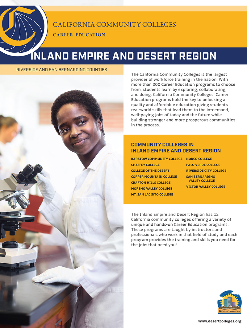 CTE Fact Sheets Inland Empire Desert