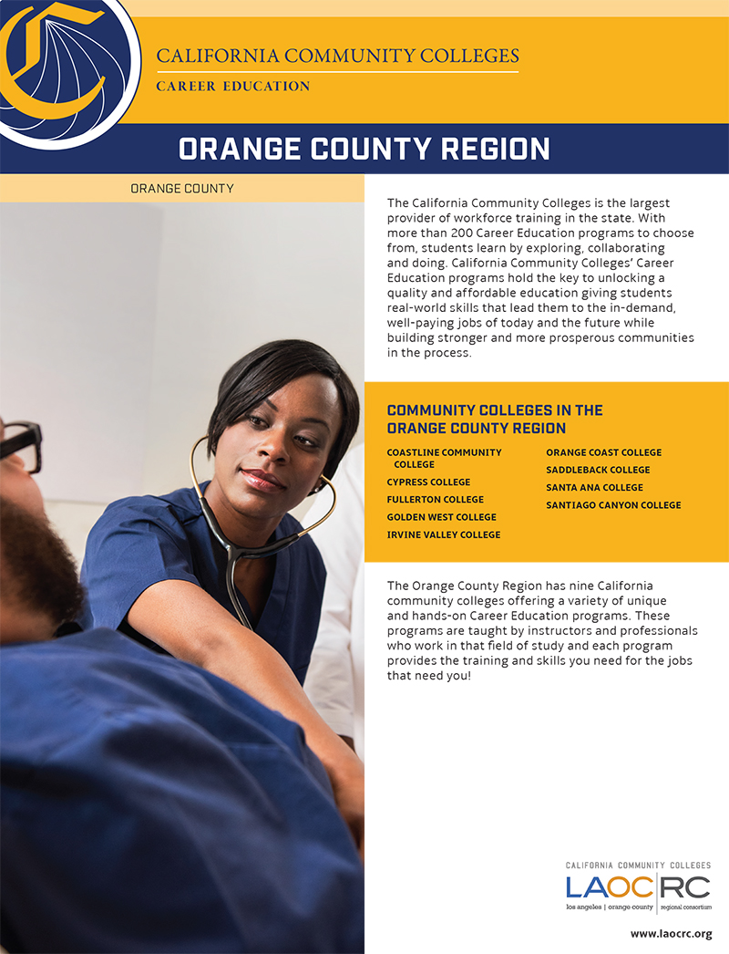 CTE Fact Sheets Orange County